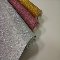 Wallpapers 1.38m Width *5m Fine Glitter Fabric For DIY Craft Wallpaper Shoes Can Be Cut Into A4 Size Or Others