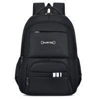 Backpack Large Capacity Men Backpacks School Bag For Boys Teen Black Oxford Waterproof Back Pack Male Rucksack 2022