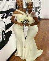Long Bridesmaids Dresses for Women, Elastic Satin Simple Fit and Flare Elegant Bridesmaid Dress Sleeveless teens Wedding Party