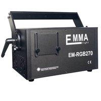1W RGB 빔 및 애니메이션 DMX 3D 레이저 프로젝터 / 500MW DJ 레이저 라이트 쇼 시스템