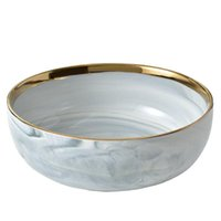 Dishes & Plates Nordic Ceramic Western Household Creative Marble Steak Plate Tableware Dinner And Sets