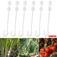 Hooks & Rails 100PCS Plastic Truss Cluster J Typed Hook Support For Keeping Indeterminate Tomatoes Fruits From Breaking Off The Plant