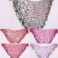 Scarf Belly Dance Indian new style dance Hip belt Causeway Sequin triangle scarf waist chain