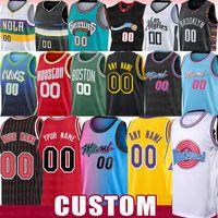 custom Brooklyn Nets LA Clippers Los Angeles Lakers Miami Heat Chicago Bulls Basketball Jerseys Movie Space Jam Tune Squad Milwaukee Bucks Memphis Grizzlies Dallas Mavericks