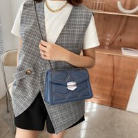 Spring and summer rivet bag women's bag 2021 new fashion Korean chain Single Shoulder Messenger Bag