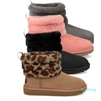 women winter boots fluff mini quilted australia booties fashion wgg luxury designer bota women snow boots fluff yeah slide warm shoes