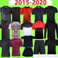 2015 2020 Tutto Black Rugby League Jersey Shorts Polo Giacca a manica lunga Seven-A-Side Special Training Suit Felpa con cappuccio Coppa del Mondo Casa Away T-shirt Top Uniforme