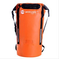 Marjaqe 40L السباحة للماء حقيبة المهنية التخييم حقيبة الجافة العوامة mochila الرحلات تخزين المياه والدليل على ظهره 2020
