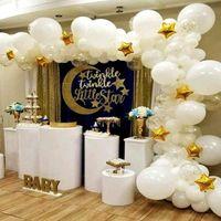 Stil Düğün Sütunları Kaideler Set Beyaz Zihinsel Akrilik Temizle Betlinlik Kek Satılık Standı QQ229 Parti Dekorasyon