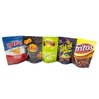 Mlyar edibles packaging zip lock bag 600mg lay's goldfishz ruffles takls funyuns fritos cookies snack smell proof resealable stand up pouch plastic packing bags
