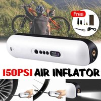 Bike Pumps BIG SALE Electric Bicycle Air Pump Car Tyre Inflator Portable 150PSI Compressor For Motorcycle Balls Tire Inflatable