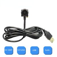 Cameras HD 1080P 2MP Wide Angle Mini USB Camera CCTV With Video Surveillance UVC Windows Pc Webcam