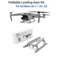 2s dron Gear Foldable Landing Skid Kit Extended Expansion For DJI Mavic 2   Air 2S Drone protection Accessories