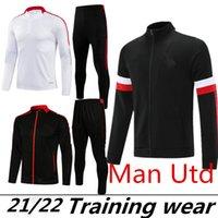 Hommes 2021 2022 Greenwood United Sancho Soccer Tarcksuit Football Jacket 21/22 Camiseta de futbol Maillot de pied Foot Man