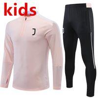 Kinder Juve Training Anzug 20/21 Italien Nationalmannschaft 2021 Trainingsanzug Chandal Futbol Langarm Fußball Jungen Pullover Set