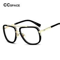 2021 Ankunft Neue CCSpace Gläser Klassische transparente Quadratische Brillen Eyewear Männer Rahmen Retro Marke Frauen C'45021 LDGFJ