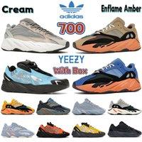 Con scatola New 700 v1 v2 MNVN riflettente Bright Carbon Blue sun Tie dye Solid Grey uomo scarpe da corsa da donna sneakers