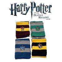 Cashmere como harry potter cosplay cachecol quatro escola mágica bae impresso lenço de inverno