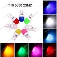 50 unids T10 5630 2SMD Cerámica LED bombillas Reemplazo Lámparas de liquidación Light Lights Lights 12V