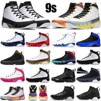 Jumpman 9 9 S Erkekler Basketbol Ayakkabıları Değişim Dünyayı Değişim Bred Üniversitesi Altın Uzay Jace Spor Salonu Kırmızı Yansıtıcı Erkek Trainer Spor Sneakers Boyutu 40-47