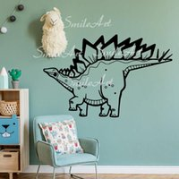 Wall Stickers Cartoon Dinasour Sticker Home Decoration Accessories For Kids Rooms Diy Pvc