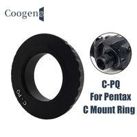Mount Movie Lens Adapter Ring For Pentax Q Q7 Q10 QS1 Q-S1 Mirrorless Camera C-PQ Fujian 35mm 50mm CCTV Lense Accessories Adapters & Mounts