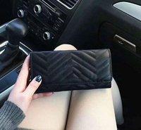 Yeni Toptan Lady Uzun Cüzdan Renkli Sikke Çanta Kart Tutucu Orijinal Kadınlar Klasik Fermuar Pocke Debriyaj Çanta 12