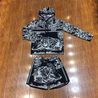 Mode Pullover Shorts Set Trainingsanzüge für Frauen Langarm Casual Hoodies Womens Sports Jogging Kleidung