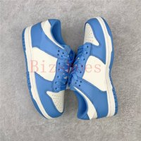 Côte basse Unc Mens chaussures Royal Blue Light Baskets roses Femmes Casual Sneakers Casual WMNS Perle Perle Running Shoe
