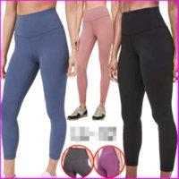 32 الصلبة ارتفاع الخصر الرياضة رياضة ارتداء طماق مرونة اللياقة البدنية الكامل الجوارب الكامل تجريب yogaworld النساء الفتيات اليوغا