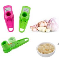 NEWMulti Functional Ginger Garlic Grinding Grater Planer Slicer Cutter Cooking Tool Utensils Kitchen Accessories 2 Colors EWD6865