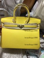 Модная сумка 30 см 25 см женщин TOTES желтые цветные сумки с штампованным замком леди натуральная кожаная сумка шарф лошади шарм на лето