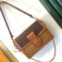 2021 جودة عالية الكتف حقيبة dauphine luxurys مصمم البسيطة حقائب crossbody النساء رجل محافظ تصميم m0nogram حقائب اليد