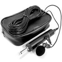 Mikrofony 6.5mm Mikrofon Mikrofon dla Erhu Saksofon Skrzypcowy Muzyczny Instrument Ekologiczny Lavalier Lapel Micro