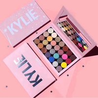 2021 En Kaliteli Kylie Jenner Göz Farı Kozmetik Makyaj Manyetik Boş Büyük Pro Paleti 28 Renkler Göz Farı Paletleri
