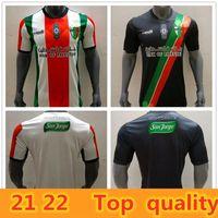 21 22 Jersey de football en Palestine Thaï Thaï Qualité Palestinien Palestiniens Palestiniens Palestiniens Palestino Rosende Football Shirt