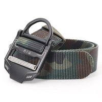 Belts Waist Belt Men's High Quality Tactical Outdoor Pull Loop Nylon Luxury Designer Fashion Casual Strap Jeans For Men