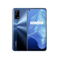 Realme 7 5G Smartphone Dimensity 800U 6+128GB ROM 120Hz Display 48MP Quad Camera 5000mAh Big Battery EU Version 30W Dart Charger