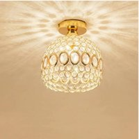 Gold  Crystal Chandelier lamp led bulb led lamps Living room dining room Chandeliers lighting led lustre Chandelier lamps