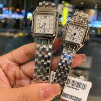 Fine Mens Watch Original Swiss Quartz Movement Watches Set With Diamonds Women Wristwatches 100% Second Degree Waterproof Montre de Luxe Top