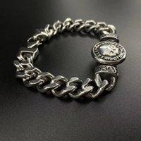 316 Aço Inoxidável Biker Harley Bracelet para Homens Jóias