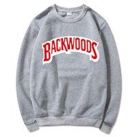 Backwoods Designer Felpa con cappuccio singola Rock T-shirt T-shirt da uomo Maglione Stampa Fashion Casual Pullover Felpa Manica lunga Manica lunga uomo S-3XL