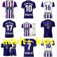 2021 2022 Real Valladolid Soccer Jersey Weissman Fede S. Sergi Plano Guardiola Óscar L. Olaza R.ALCARAZ Camisetas de Fútbol 21/22 Homens Kit Kit Camisetas Football