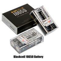 Authentische Blackcell IMR18650 Batterie 3100mAh 40A 3,7 V wiederaufladbare Lithium-Vape-Batterie-flacher oberer Hoher Abfluss 18650 Box Mod