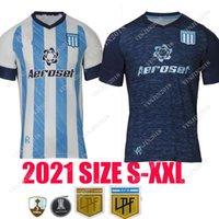 2021 2022 Racing Club Soccer Jerseys Camisetas Tomás Chancalay Fertoli Churry Rojas Barbona Cvitanich Anybal Moreno 21 22 الصفحة الرئيسية Lorenzo Melgarejo كرة القدم قميص