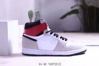 Обувь Новая Продажа 1 Высокий OG Легкий Дым Серый дешевый 1 ГС Чикаго 1 Патент Черный Золотой Открытие Праздничный Баскетбол