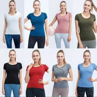 Tops Femmes Tees Top Sports Respirant Fitness Yoga Wear