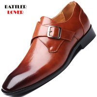 Dress Shoes Men Brogue For Formal Business Flats Loafers Wedding Homme Cap-toe Wingtip Oxford Plus Size 38-48 Brown Black