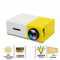 YG300 LED Mini Proyector 480x272 Pixels Supports 1080p HD USB Audio Portable Portable Media Video Player