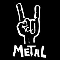 7.6CM*12.1CM Heavy Metal Sticker Vinyl Decal Electric Bass Guitar Rock Personality Car Sticker Accessories